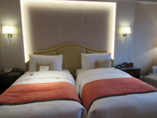 The Okura Prestige Taipei: よく眠れるベッド