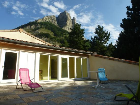 La Terrasse De Toit Photo De Gite Du Col De La Chaudiere