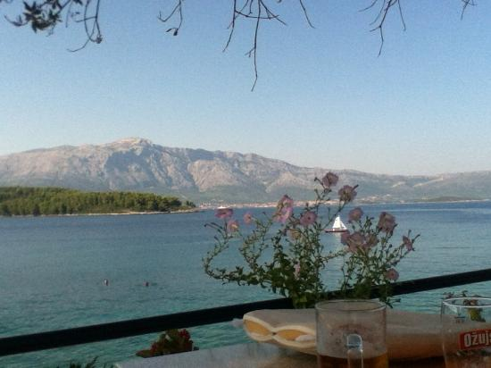 Lina Apartments: View from Lina restaurant