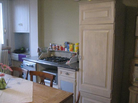 Monticlaris Bed and Breakfast Self Contained: Cucina