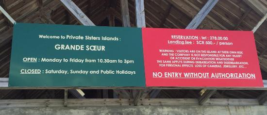 Sisters Islands Private: nouvel enseigne