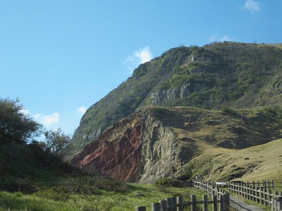 Oki Chibu Red Cliff: 大自然の凄さに、圧倒されてください。島根の宝物です。