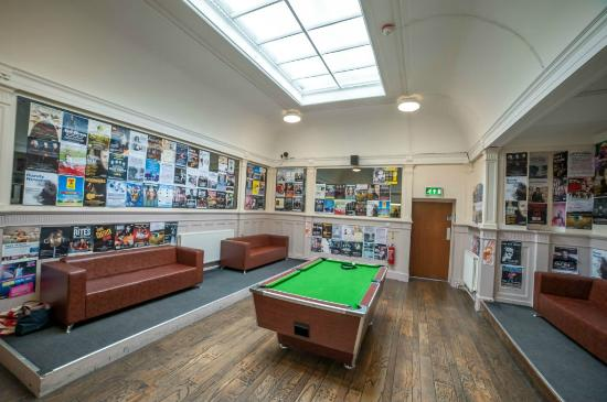 Glasgow Youth Hostel: Pool Room