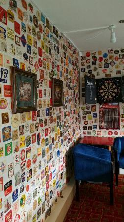 Never seen so menny beer mats