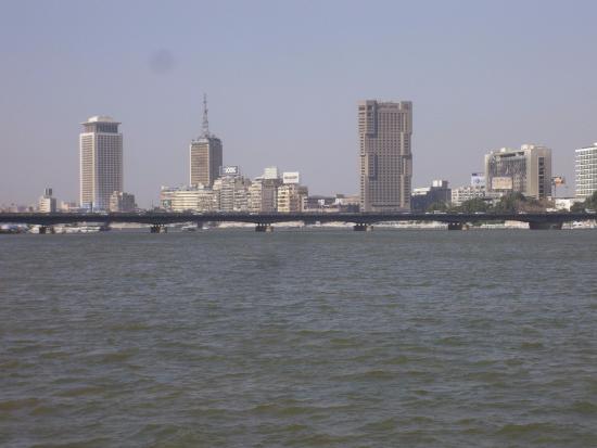 Sixth of October Bridge: 6th October Bridge from Qasr Al-Nil Bridge