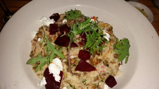 Yarmouth, ME: Beet and Lentil Risotto