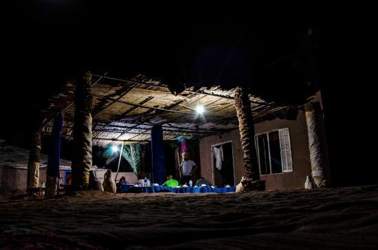 Camping Bivouac Ait Isfoul : Veranda camping