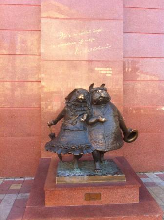 Sculpture Walking Dogs: Собачки