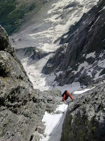 Alpine School Bergaufbergab: Piz Badile - Nordgrat