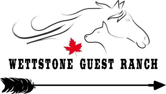Bridge Lake, Canadá: Logo Wettstone Guest Ranch