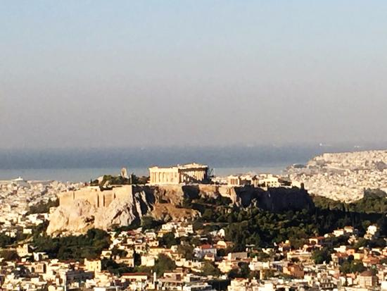 George's Taxi: View from Mount Lycabettus