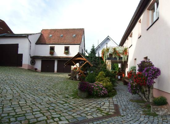 Freital, Jerman: The courtyard