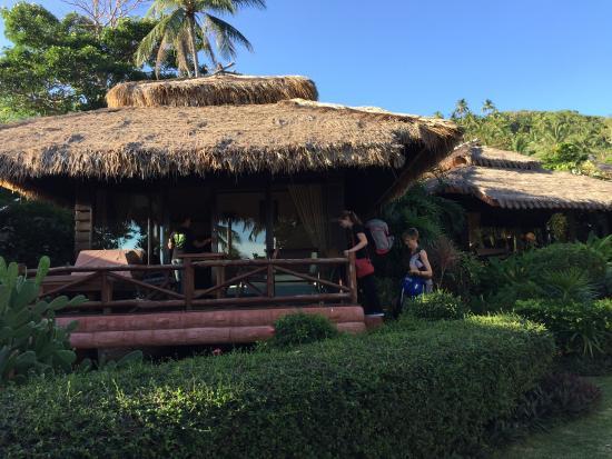 Palm Leaf Resort: bungalow seaview