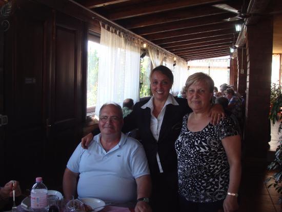 Ristorante Li Naccari : Con la proprietaria