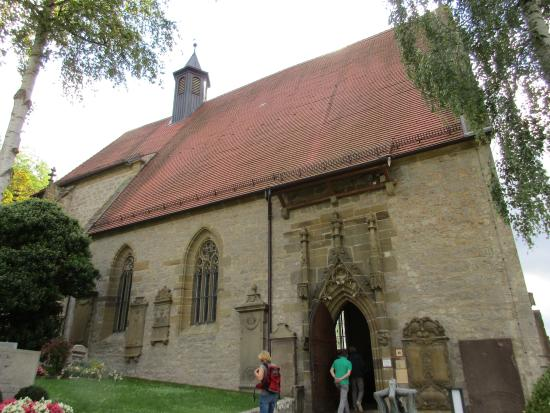 de herrgottskirche in Creglingen