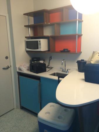 Universal S Cabana Bay Beach Resort Family Tower Suite Kitchen Area