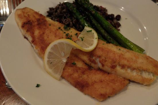 Splashing Rock Restaurant: Canadian Walleye pan fried