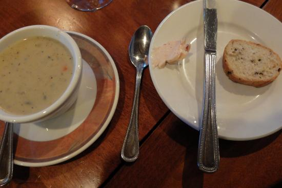Splashing Rock Restaurant: Soup du Jour
