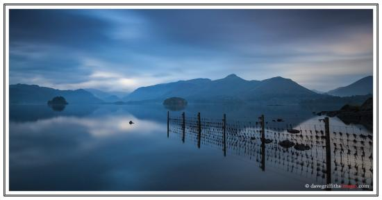 Burnside B&B : Worth getting up early for - Derwent Water at Dawn