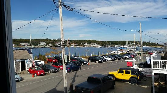 The Dockside Inn: Views from our room #20