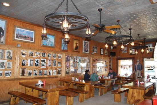 John Wayne Room Picture Of Ost Restaurant Bandera Tripadvisor
