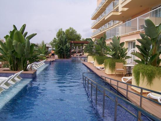 Junior swim up suite balcony billede af iberostar suites for Hotel jardin del sol mallorca