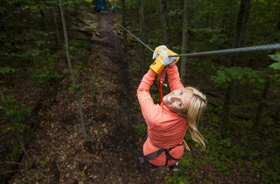 Morin Heights, Canada: Grand parcours