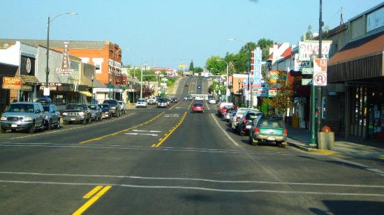Main Street - Grangeville, Idaho