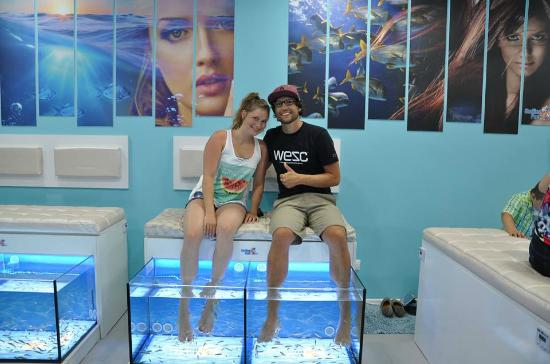 linly smile fish spa