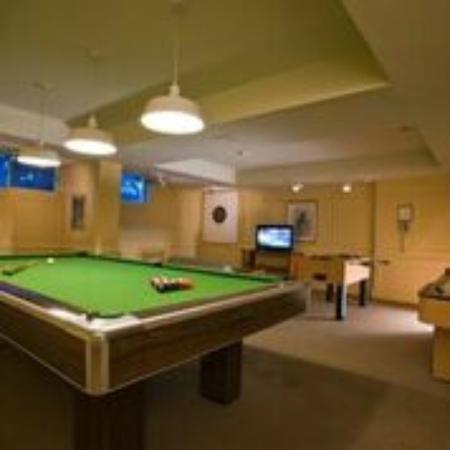 Jackson's Point, Καναδάς: Games room at the Briars