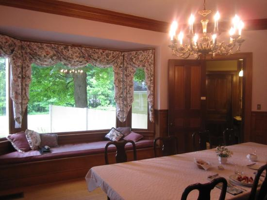 Governor's House in Hyde Park: Breakfast room