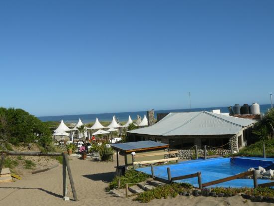 La piscina picture of frontera sur miramar tripadvisor for Toboganes para piscinas
