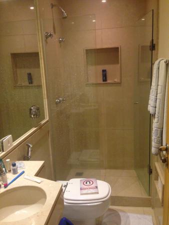 Gaivota Barra Hotel : Banheiro