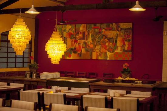 Louveira, SP: Detalhe restaurante
