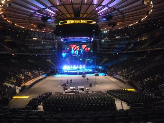 Madison Square Garden Concert Being Prepared