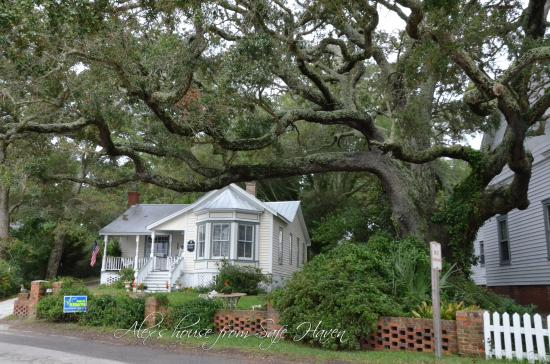 Southport, Carolina del Norte: The house used in Safe Haven