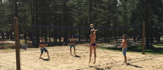 Graeagle, Californië: Volleyball