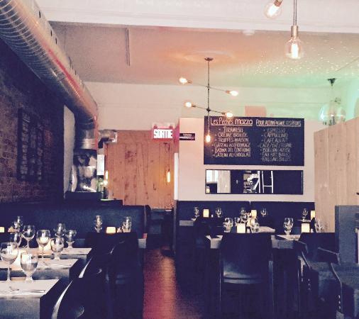 Restaurant Mozza Pates et Passions: Notre salle / Dining room