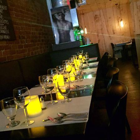 Restaurant Mozza Pates et Passions : salle à manger / dining room