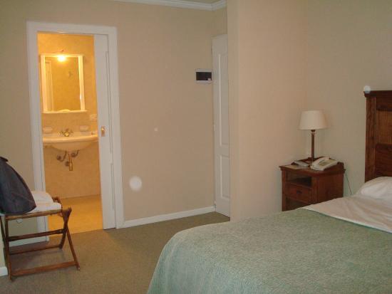 Patagon Hotel: La habitación.