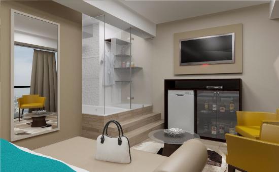 los arces hotel amplia habitacin moderna con cama king edredn de pluma