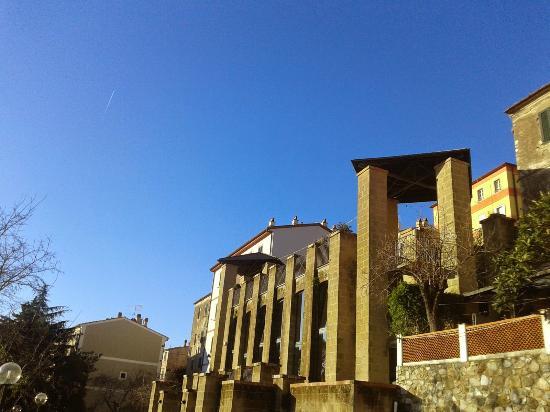 Esterno del Museo archeologico del Distretto minerario di Rio nell'Elba