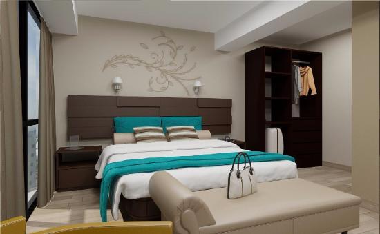 Amplias habitaciones con dise os elegantes y sobrios - Habitaciones decoradas modernas ...