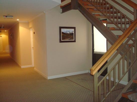 Patagon Hotel: Se sube por escaleras