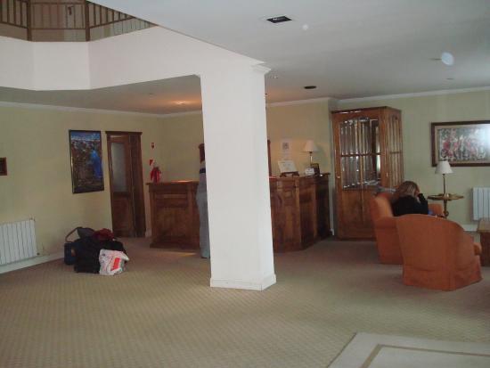 Patagon Hotel: La recepcion
