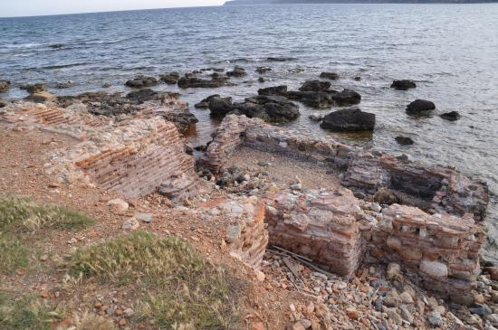 Plitra, Yunanistan: Древний затонувший Асопос
