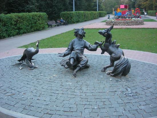 Sculpture Konyok-Gorbunok