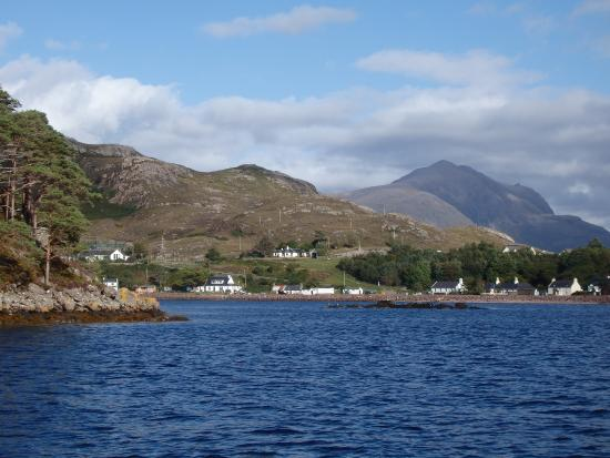 Shieldaig from the bay