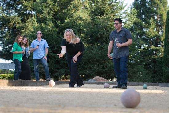 Enoy Bocce in the Vineyard Hosted by Dry Creek Vineyard