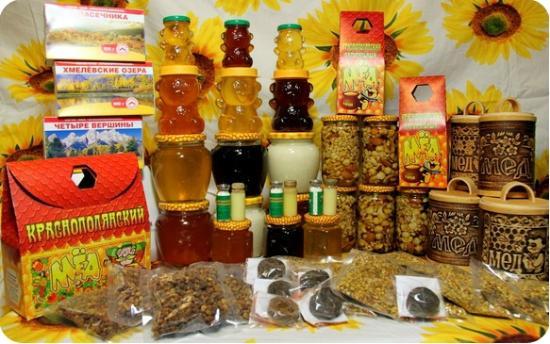 Красная Поляна, Россия: Полезные продукты